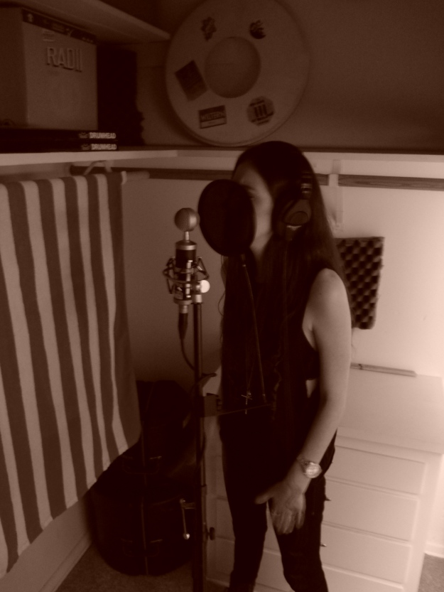 Alexa tracking vocals on the Blue Baby Bottle